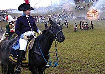 201th Anniversary of the 1805 Battle of Austerlitz - Historical Reenactment